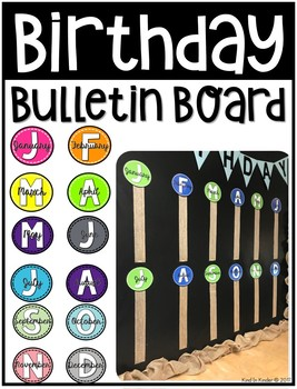 Birthday Bulletin Board Decor