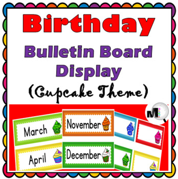 Birthday Display Classroom Decor