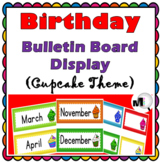 Birthday Display Classroom Decor