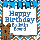 Dogs Birthday Bulletin Board