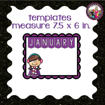 Birthday Bulletin Board! *Editable Templates