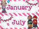 Birthday Bulletin Board Melonheadz Back to School