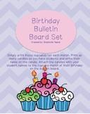 Birthday Bulletin Board Set