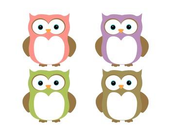 Birthday Bulletin Board Set - Owls