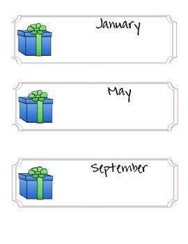 Birthday Bulletin Board Set - Thistle Girl Graphics