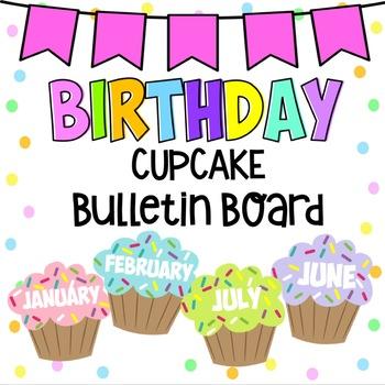 Editable Birthday Bulletin Board and Banner