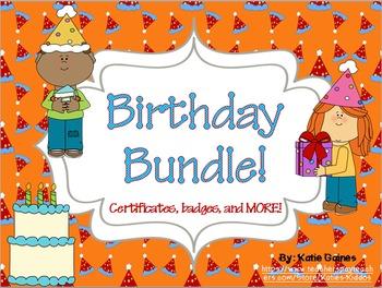 Birthday Bundle!