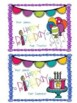 Birthday Handouts