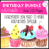 Birthday Bundle (EDITABLE)