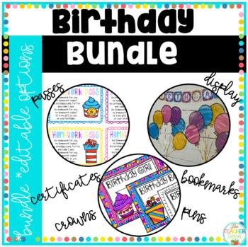 Birthday Bundle/Pack