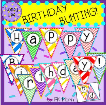 Birthday Bunting!