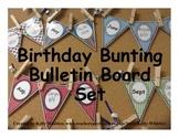 Birthday Bunting Bulletin Board Set