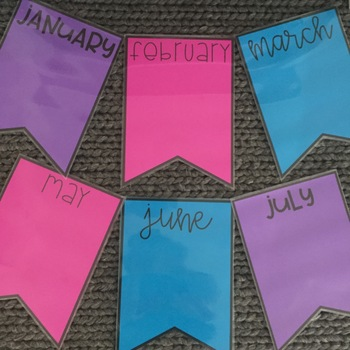 Birthday Bunting Freebie!