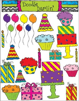 Birthday COLOR ONLY Set