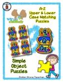 Birthday Cake - Celebration - Alphabet / Letter Puzzles -