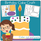 Birthday PreK Craft Activity