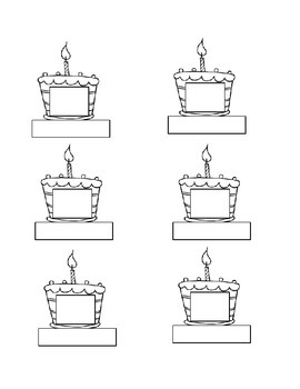 Birthday Cake Graph