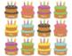 Birthday Cake Themed Birthday Chart and Certificate