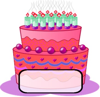 Birthday Cakes Classroom Display