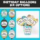Birthday Display & Prizes