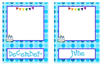Birthday Calendar For Your Classroom