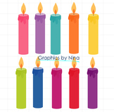 Birthday Candels Clipart