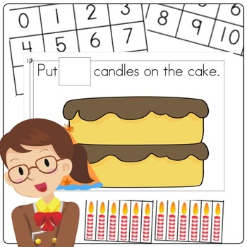 Birthday Candle Counting Mat