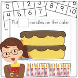 Birthday Preschool and PreK Maths Activity