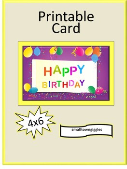 Terrific Birthday Cards For Students Balloons Theme Birthday Card Printable Funny Birthday Cards Online Overcheapnameinfo