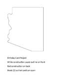 Birthday Card Project - Arizona