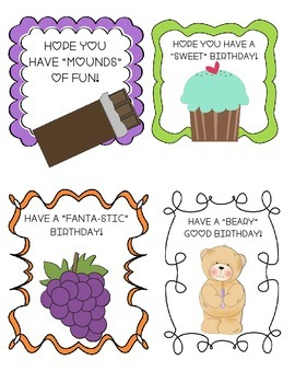Birthday Card and Tags