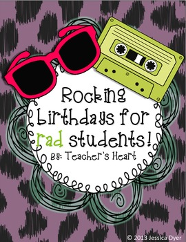Birthday Card for Rad Kids