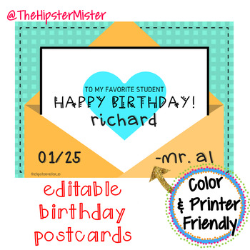 Birthday Cards Party Like Its 1999 By The Hipster Mister Tpt