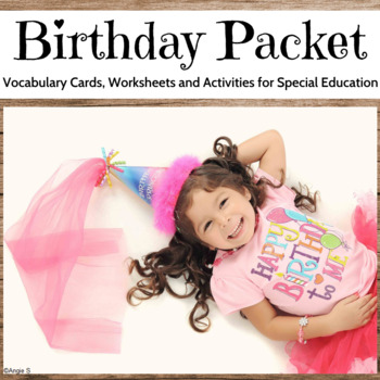 Birthday Cards, Worksheets and Activities Packet