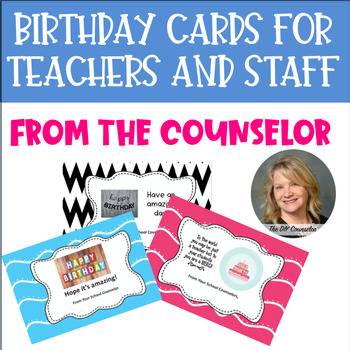 #Octoboerfestsale Birthday Cards for Teachers From the Sch