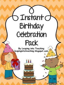 Birthday Celebration Pack