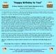 Birthday Celebration SMART Board Attendance Activity w/ SOUND