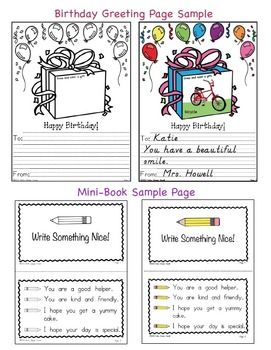 Birthday Celebrations! - Pocket Hanger, Greetings, Minibook, & Artwork