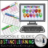 Birthday Celebrations for Google Slides