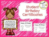 #ausbts18 Birthday Certificates