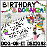 Birthday Certificates, Banners, Coupons, Bookmarks, Prizes, Gift