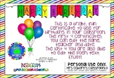 Birthday Certificates EDITABLE