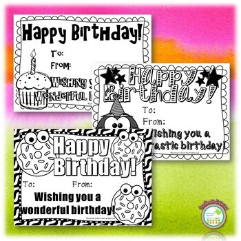 Editable Birthday Certificate Pack
