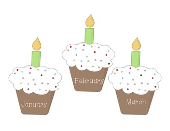 Birthday Certificates and Classroom Displays