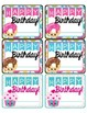 Birthday Certificates and Labels
