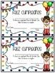 Feliz Cumpleaños Birthday Certificates in SPANISH