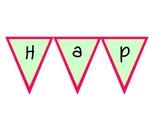 Birthday Chart Banner