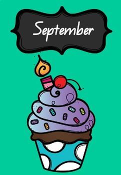 Birthday Chart Freebie Part 2