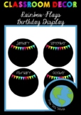 Birthday Chart - Rainbow Flags