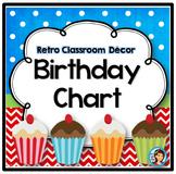 Birthday Chart {Retro}